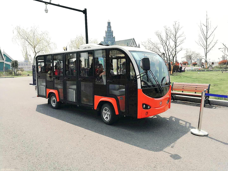 荷兰花海同款14座带空调观光车