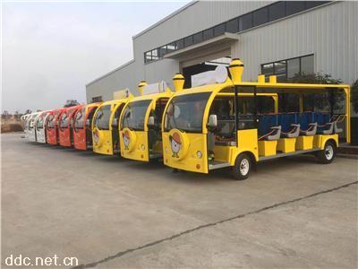 旅游观光17座电动车