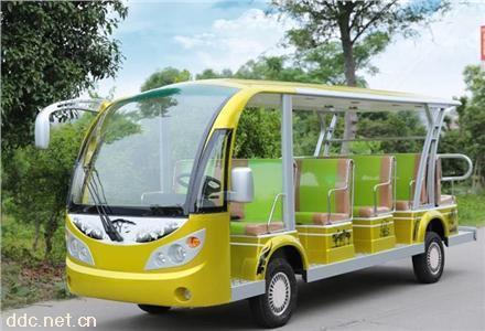 新款14座敞篷景区电动观光车