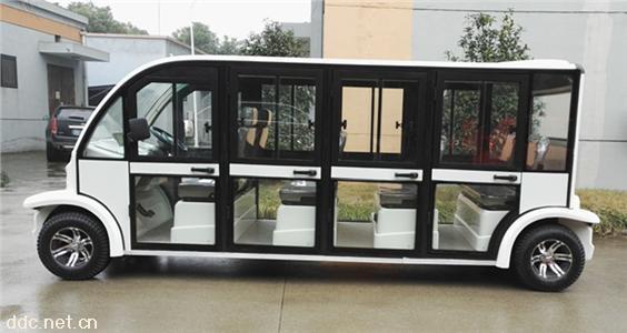 11座多功能电动观光车