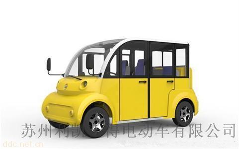 利凯8座景区游览车电动观光车