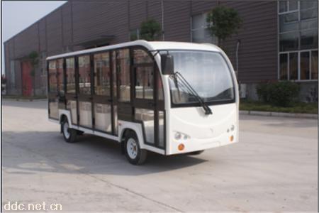 14座新款全玻璃门电动观光车