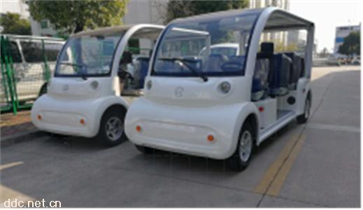 利凯6-8座电动观光巡逻车敞开式