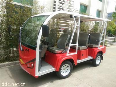 利凯8座动物园卡通电动观光车