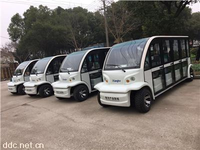 11座新款多功能电动游览观光车