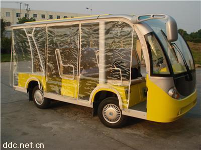 8座敞开式电动观光车