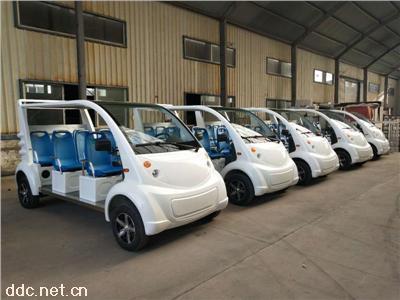 8座敞开式电动车