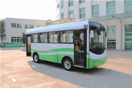 校园电动个公交车,环座电动中包车