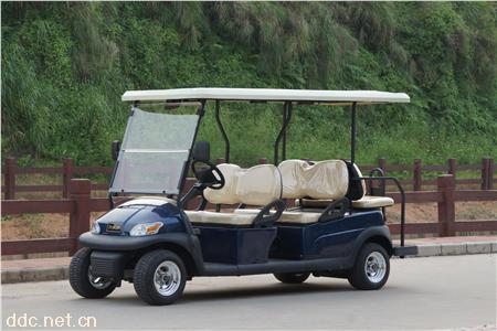 4+2背靠背6座电动高尔夫球车