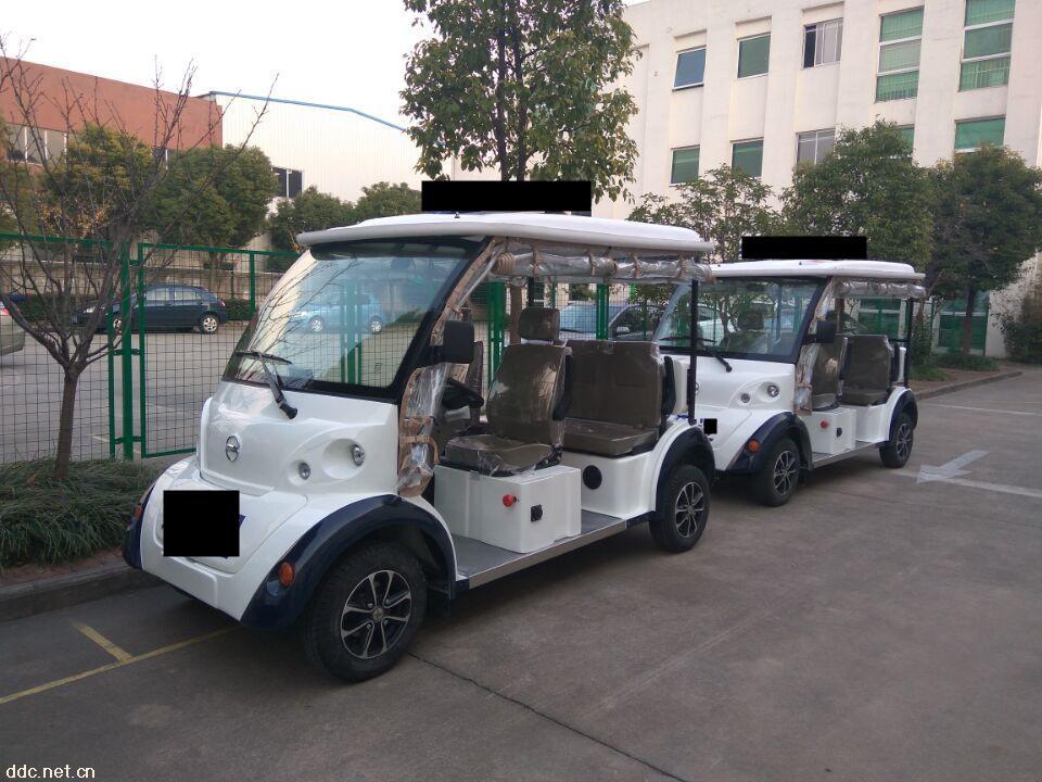 敞开式四座电动巡逻车