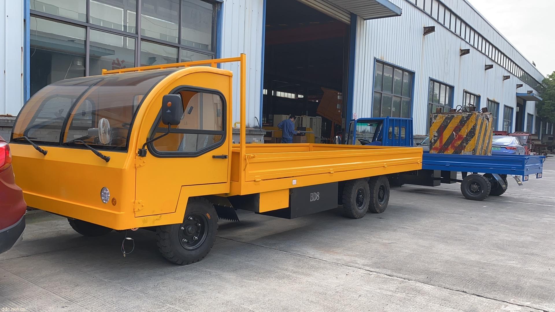 8吨电动平板载运车