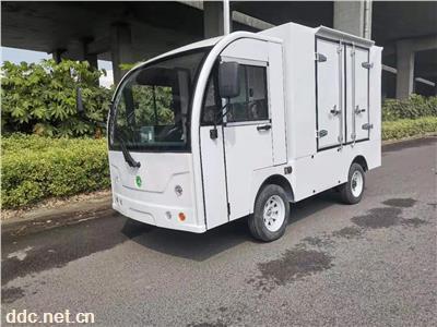电动箱式送餐车厢式货车