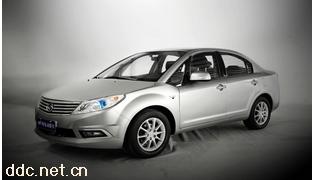 速达纯电动轿车银白