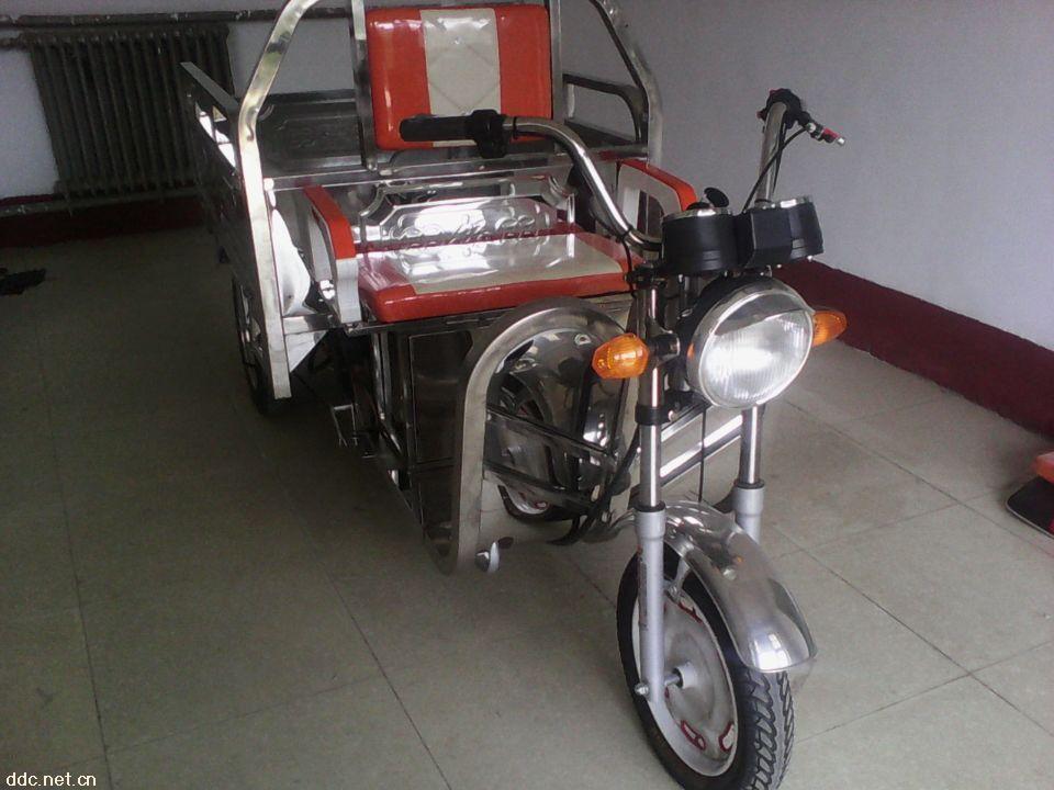 不锈钢电三轮车斗车架