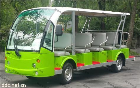 朗动14座电动环保景区游览观光车