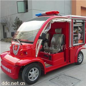 景区游乐场小型电瓶巡逻消防车