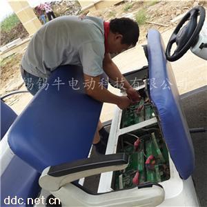 上海浙江巡逻车观光车更换电瓶