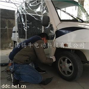 无锡电动巡逻车遮雨帘定制测量