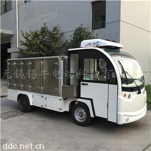 定制不锈钢电动送餐车