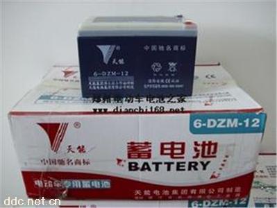 天能铅酸电池