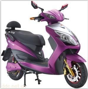 雷霆王亚光银白套亚光炫紫电动车