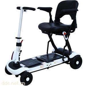 美国原装进口舒莱适锂电轻便可折叠老年人电动代步车