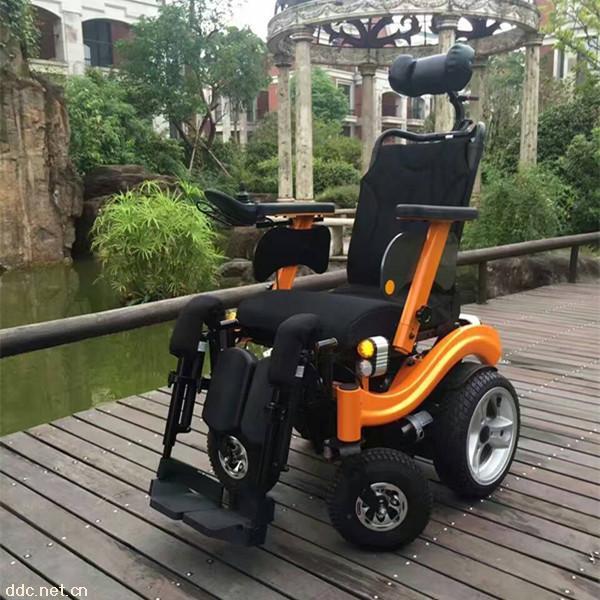 伊凯EPW65电动轮椅可平躺后仰大功率老年电动轮椅车代步