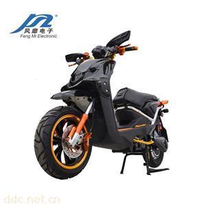 风靡电动摩托车鬼面路虎