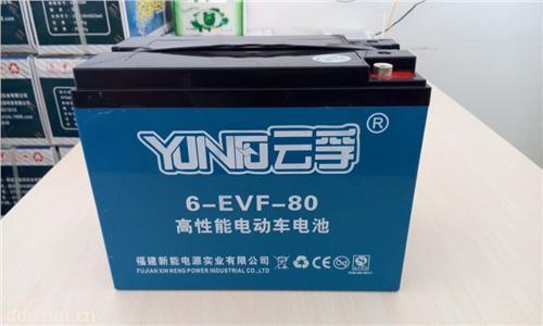 云孚60V40AH电池