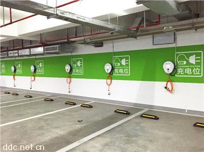 电动汽车充电桩-公共停车场充电桩解决方案