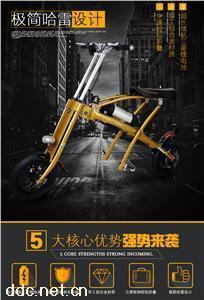 厂家直销最新款迷你便携折叠电动代步车