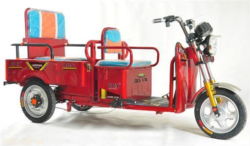 ・路缘电动车-幸福大折叠电动三轮车