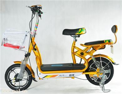 路缘电动自行车-可乐