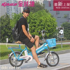 金时捷16寸战神电动自行车
