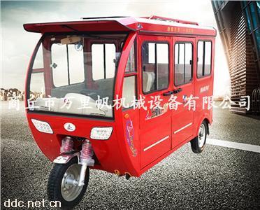 厂家批量供应全封闭客运电动三轮车一件发货诚招代理