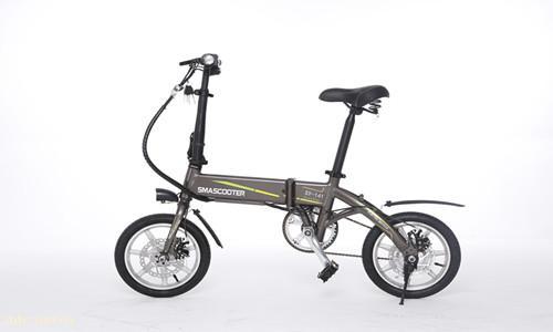 松裕折叠电动自行车