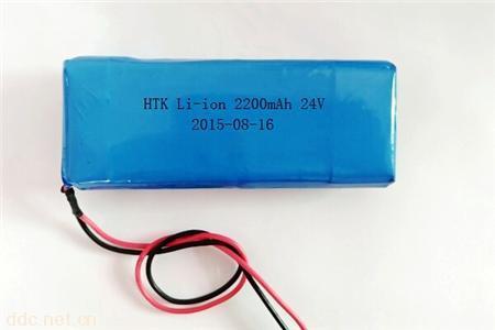 24V 2.2AH锂离子电池组
