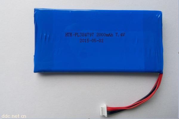 聚合物锂电池384797PL