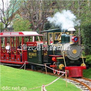 瑞鑫动励60座仿古蒸汽小火车