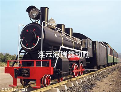 瑞鑫动励300座仿古蒸汽机车