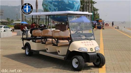 8座电动游览观光车