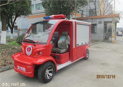 供应2人座微型电动消防车