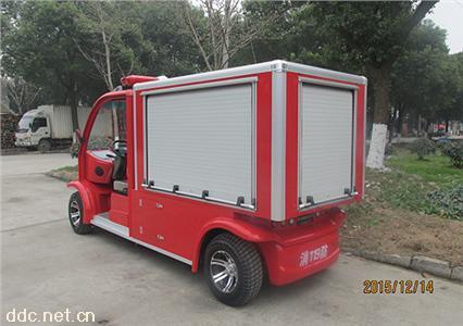 供应2人座社区电动消防车