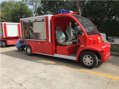 四轮2座电动消防巡逻车