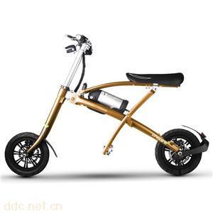 酷车e族B2折叠电动自行车 单车成人代步车迷你型便携电瓶车