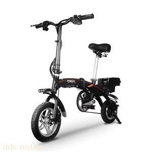 酷车e族C10代驾折叠电动车轻便代步助力电动车
