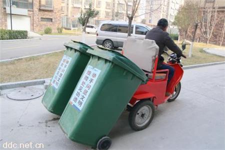 直销垃圾桶电动三轮车