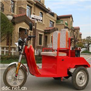 本公司自主研发环卫电动三轮车