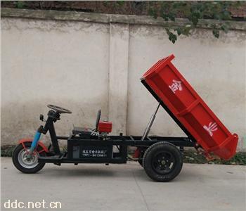 热卖矿用电动三轮车 电动混凝土运输车动力强劲载重量大原厂供应