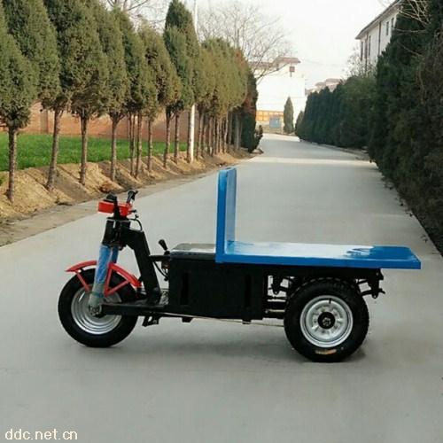 电动平板拉砖车 工地拉砖车马力强劲持久耐用建筑工程专用
